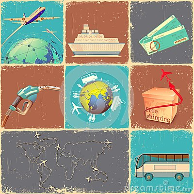 Transportation Collage