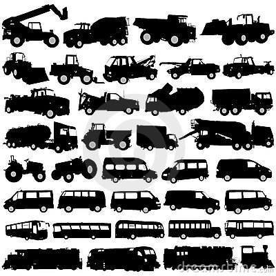 Transportation and construction vehicles