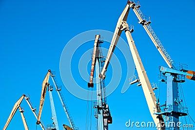 Transportation cranes