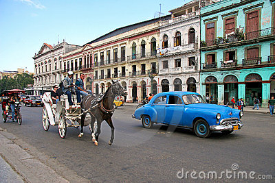 Transportation in Cuba Editorial Stock Photo