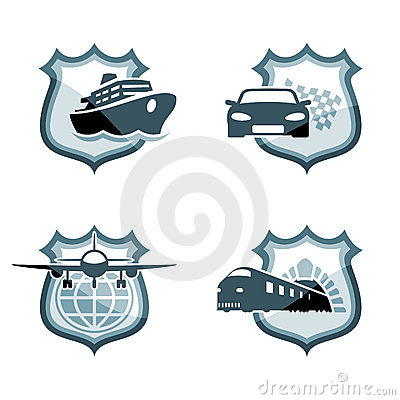 Transportation emblems