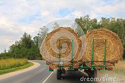 Transportation of haystacks