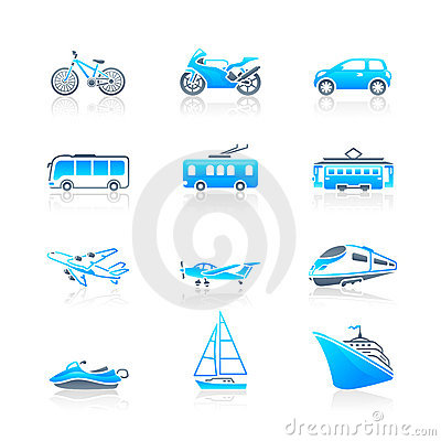 Transportation icons | MARINE series