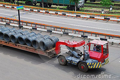 Transportation of metal wire