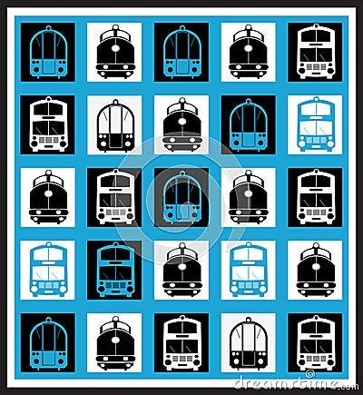 Transportation mosaics