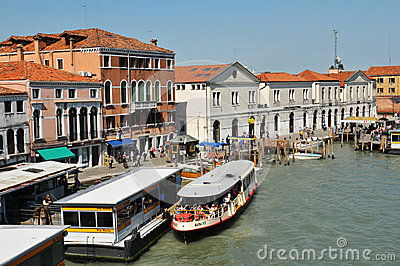 Transportation in Venice Editorial Image