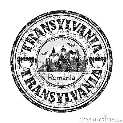 Transylvania rubber stamp