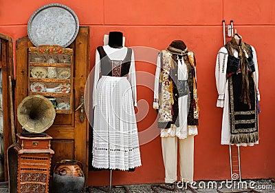 Transylvania traditional costumes
