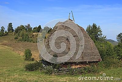 Transylvanian tradizionale della casa