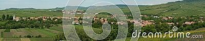 Transylvanian villages landscape
