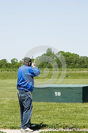 Free Trap Shooting Royalty Free Stock Photo - 2504145