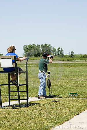 Free Trap Shooting Royalty Free Stock Photo - 2504165