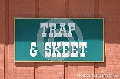 Trap & Skeet Sign