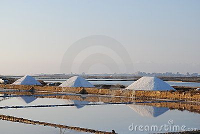 Trapani - Sea water salt ponds