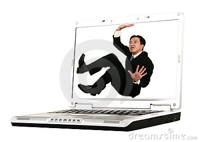 Trapped On Laptop Screen 2