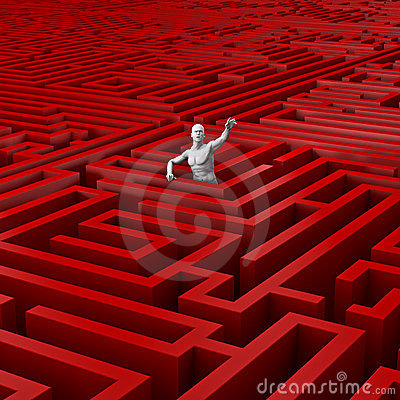 Trapped in the maze