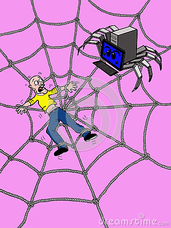 Trapped in the Web