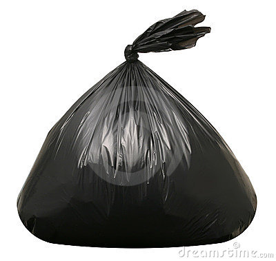 Free Trash Bag Stock Image - 19689211