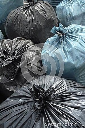 Free Trash Bag Stock Photography - 5275242