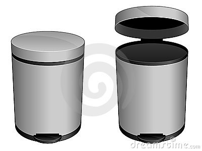 Trash Can Icon EPS