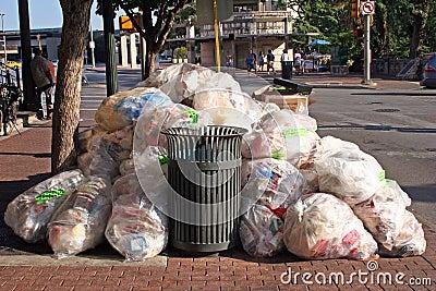 Trash and garbage
