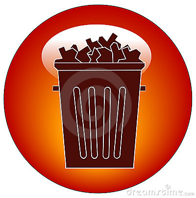 Trash icon or button
