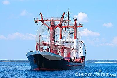 Trasnportation ship