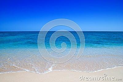 Trate las ondas con suavidad