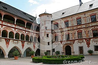 Tratzberg Castle Courtyard, Austria