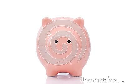 Trauriges Sparschwein