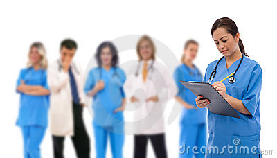 Travail d équipe médical