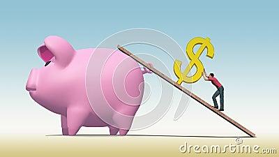 Travaux forcés pour épargner un dollar