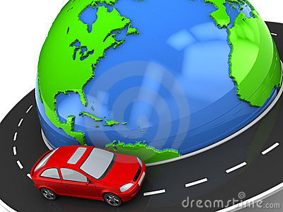 Travel around earth