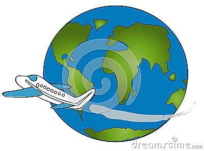 World Travel Airplane Logo Stock Photos – 0 World Travel ...
