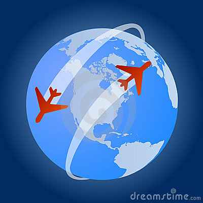 Travel around the world with flights