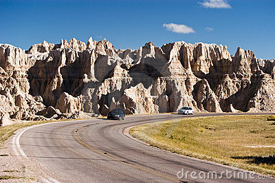 Travel in the Badlands