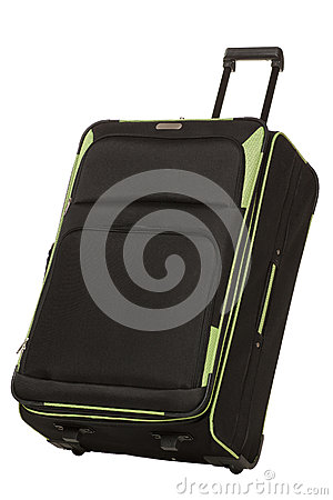 Travel bag inclined
