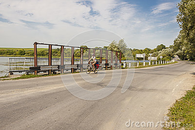 Travel by bicycles - Ukraine.