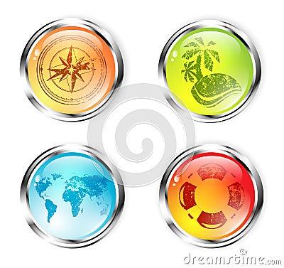 Travel Button Set