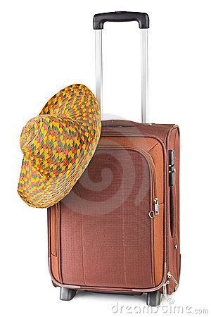 Travel case and hat