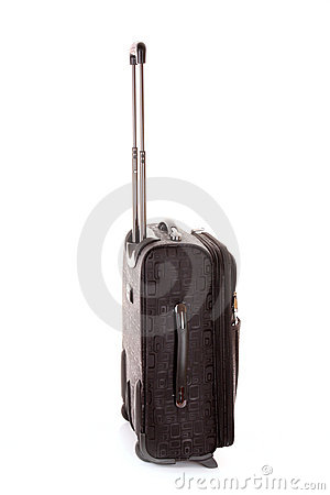 Travel case isolated