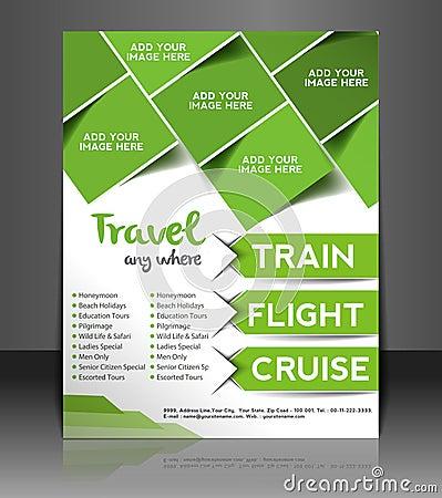 Travel Center Flyer Design