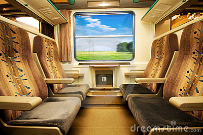Travel in comfortable train.