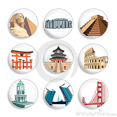 Travel destination badges | Set 2