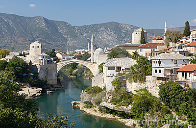 Travel Destination of Mostar, Bosnia