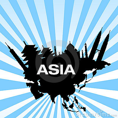 Travel destinations in asia