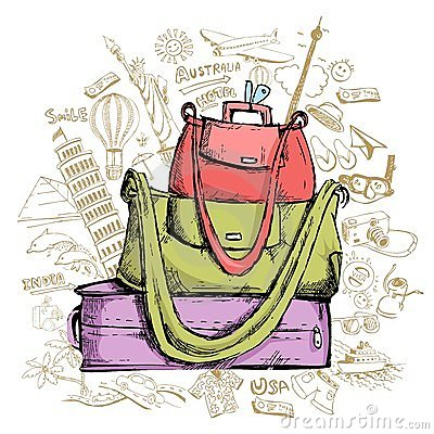 Travel Doddle with Luggage