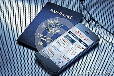 Travel E Ticket Passport