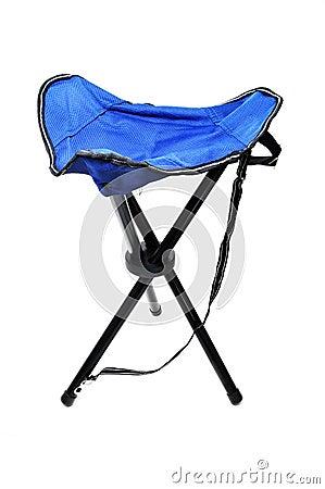 Travel folding stool