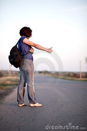 Travel by hitchhiking